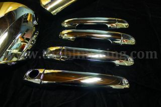 2010 Hyundai Elantra Chrome Door Handle Mirror Cover Trim Package 2008