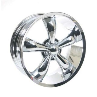 Summit Racing Legend 5 Series Chrome Wheel 20x8 5 5x114 3mm