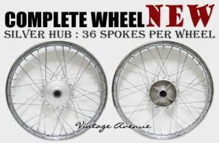 Suzuki A100 AS100 AC100 Front Rear Wheel Rim Hub Spoke F4S R3S