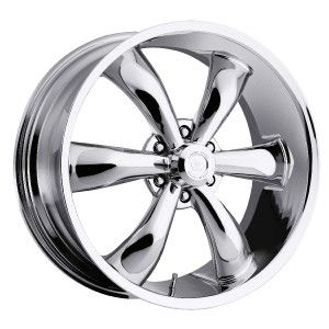 22 inch Vision 142 Legend 6 Chrome Wheels Rim 6x135 30