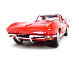1965 Chevrolet Corvette Red 1 18 Scale Diecast Model