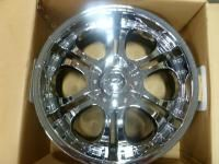 ZINK 20x9 Chrome Wheels 5x150 Range Rover Chrome Rims