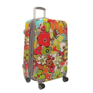Olympia Luggage Blossom 25 inch Expandable Vertical Rolling Upright