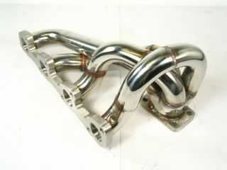 OBX Exhaust Turbo Manifold Header Volvo 240 2 4L w T3 F