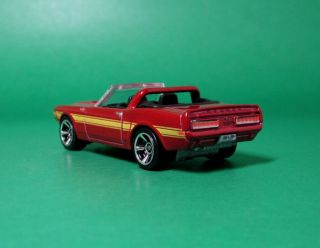 Hot Wheels 1 64 1969 69 Ford Mustang Shelby GT500 Convertible Metallic