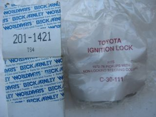 72 76 77 78 Toyota Pickup Ignition Lock Cylinder Switch