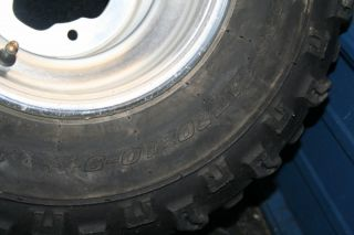Yamaha Raptor 660 YFZ450 Rear Wheels Tires Rims Stock