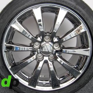 is350 Factory OEM Ecodriven Chrome Wheels Rims BFGoodrich Tires