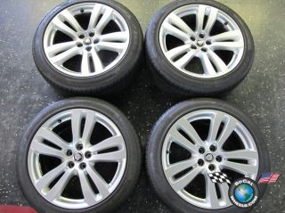 12 Jaguar XJ XJL Factory 19 Wheels Tires Tobia Rims OEM BW9M 1007 JA