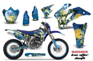 AMR Racing Motocross Graphic MX Kit Yamaha WR 250 450 F 07 12 Iron
