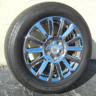 Factory Cadillac cts Wheels 235 55R17 Michelin Pilot MXM4 Tires