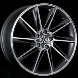 18 Wheels VW Jetta Passat CC Golf GTI EOS 5x112 18x8