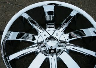 Incubus Poison 764 20 Chrome Rims Wheels Lincoln MKS MKZ MKX