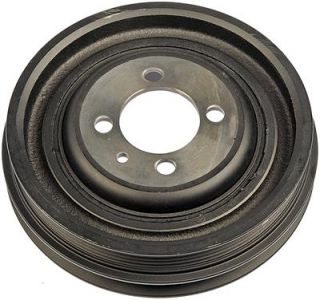Dorman Harmonic Balancer Nodular Iron Black 6 375 in OD Fits Hyundai 2