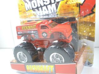 2012 Hot Wheels Monster Jam Backdraft Dodge RAM