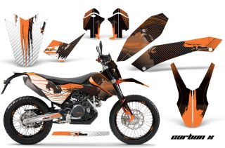 AMR Racing KTM Graphic Kit Sticker Dekor 690 SM Enduro Number
