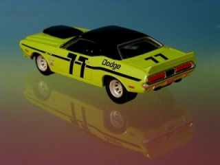 Hot Wheels 70 Dodge Challenger scca Trans Am Racer Limited Edition 1