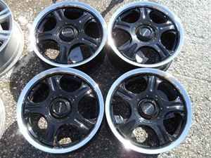 15 Proline 5 Spoke Black Wheel Set 5 Lug 100mm LKQ