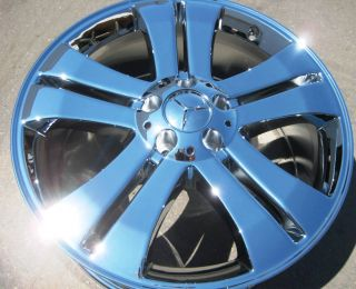 Stock 4 New 19 Factory Mercedes GL450 GL320 Chrome Wheels Rims