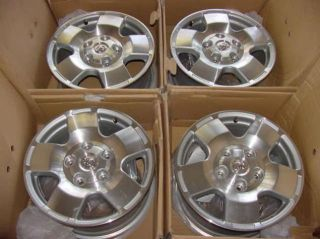 2011 Toyota Tundra Premium 18 Wheels Rims Factory