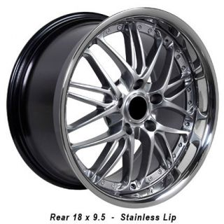 18 Rim Fits BMW 3 Hyper Black Wheel 18 x 9 5