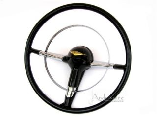 New Classic Antique Car Chevy Steering Wheel Retro Chevrolet Belair