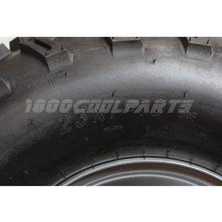 Left Front 23x7 10 Wheel Tire Rim ATV Quad Go Kart Buggy 250cc taotao