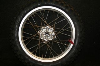 Honda CR85 CR 85 Expert Rear Wheel Hub Rim