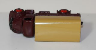 Dinky Toys 30s 413 Austin Covered Truck Maroon Tan