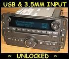 UNLOCKED 2010 2011 Chevy SILVERADO GMC SIERRA CD Radio Ipod USB input