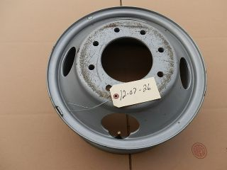 FORD F350 SUPERDUTY POWERSTROKE FACTORY OEM 17 DUALLY STEEL RIM WHEEL