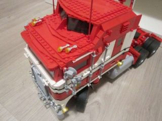 Lego Custom Kenworth Truck INSTRUCTIONS ONLY