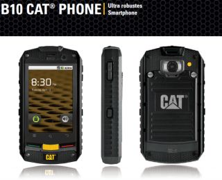 Caterpillar CAT B10 Dual Sim Outdoor Handy Touchscreen Smartphone mit
