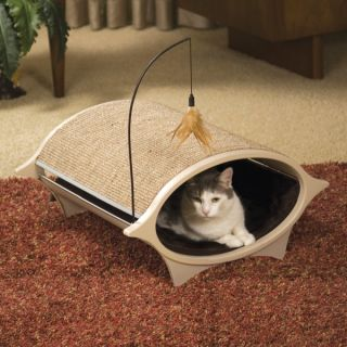 Hooded Cat Bed &F14 Enclosed Cat Shelters