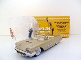 BROOKLIN 1/43 BRK64A 1959 FORD THUNDERBIRD CONVERTIBLE SFBBC 2002