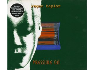 QUEEN   ROGER TAYLOR  CD SINGLE   PRESSURE ON   DIGIPACK
