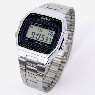 Casio Collection Herrenuhr der Klassiker der 80 er Jahre A164WA 1VES