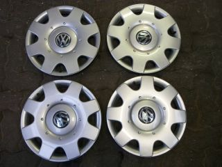 RADKAPPEN ORIGINAL VW VOLKSWAGEN TOURAN GOLF 5 V 6 VI PLUS 4 STÜCK 16