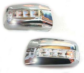 Chrom Spiegelkappen+LED Blinker Mercedes W210 W202 W140