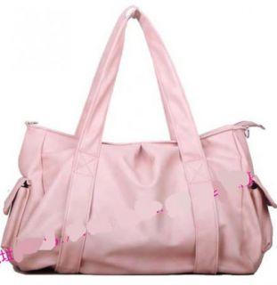 Casual Handtasche Pure Color Tote Bucket Bag Big Bag Handbag Single