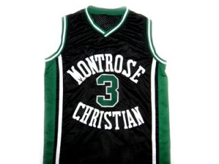 KEVIN DURANT MONTROSE HIGH SCHOOL JERSEY BLACK   ANY SIZE