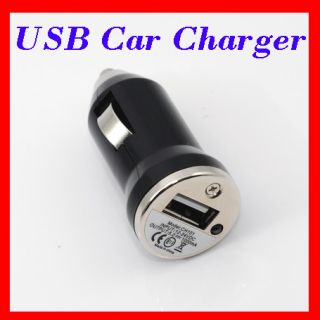 Mini USB Car Charger Autoladegerät iPhone 4 3G iPod B