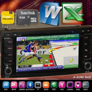 VW GPS DVD sat nav T5 MULTIVAN Transporter TOUAREG PIP CAN BUS IPOD