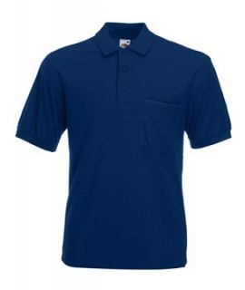 Fruit of the Loom Herren Kurzarm Polo Shirt Poloshirt S   XXL