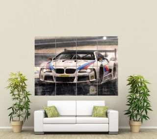 BMW SUPER SPORTS CAR GIANT ART POSTER PICTURE PRINT ST575