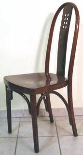 JUGENDSTIL SESSEL JOSEF HOFFMANN ART NOUVEAU CHAIR N. 636 UM 1910 TOP