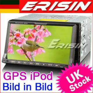 ES728DE 7 2 Din HD Touch Screen Autoradio Car DVD Player GPS