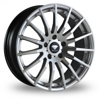 18 Diamond Spyder Alloy Wheels & Nankang NS 20 Tyres   TOYOTA RAV