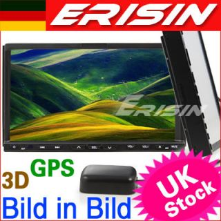 ES956DE 7 2 Din HD Car DVD Player GPS Navigation IPOD TV Autoradio