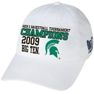 Majestic Michigan State Spartans White NCAA 2009 Big Ten